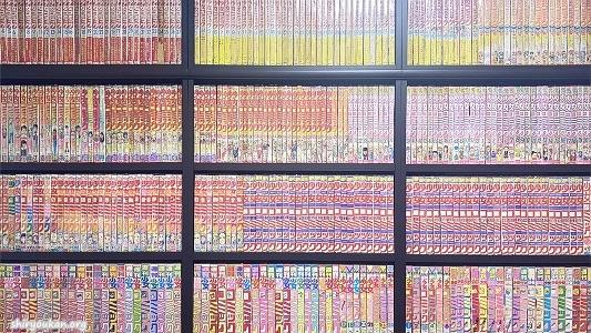 「高橋亮子センセ作品館」本棚
